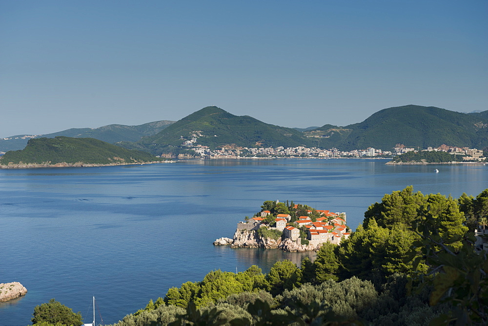 Sveti Stefan and Budva, Montenegro, Europe