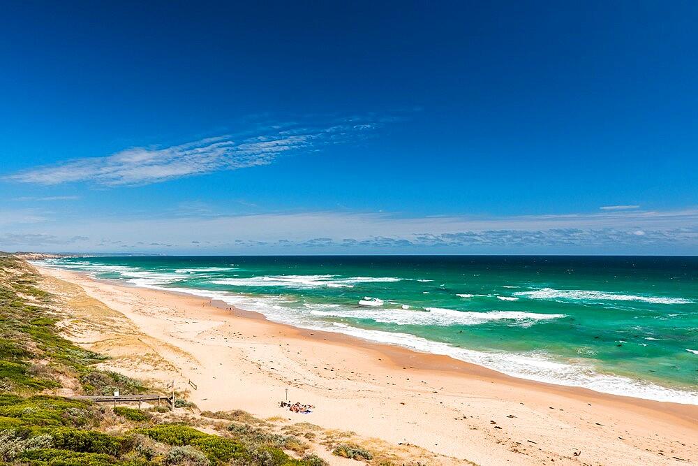 Portsea Back Beach and Southern Ocean, Point Nepean National Park, Portsea, Victoria, Australia, Pacific - 737-729
