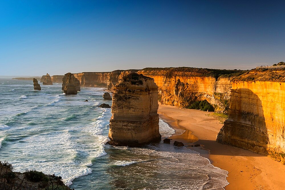 Some of the Twelve Apostles, Twelve Apostles National Park, Port Campbell, Victoria, Australia, Pacific - 737-731