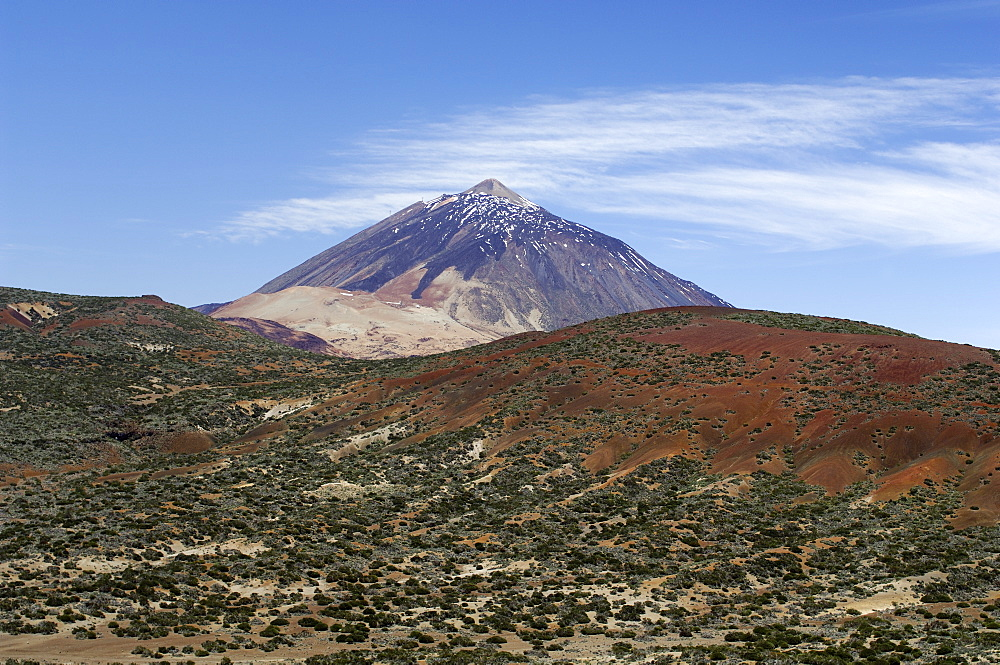 Teide National Park, Mount Teide (Pico de Teide), Tenerife, Canary Islands, Spain