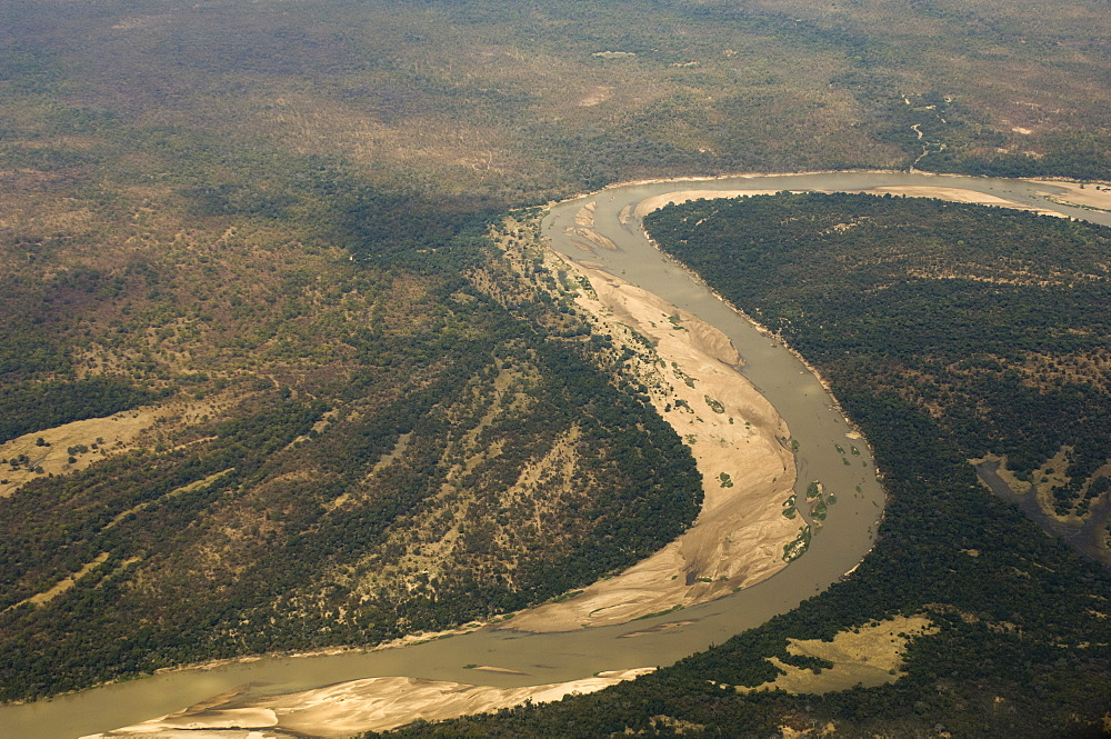 Luangwa River, South Luangwa National Park, Zambia, Africa