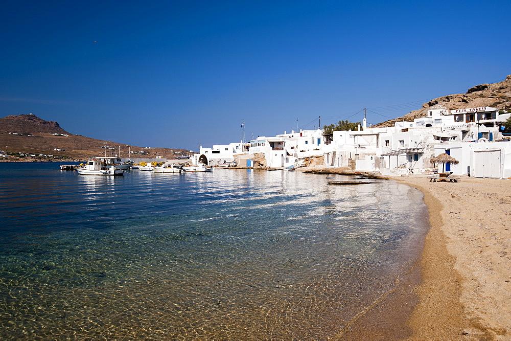 Cape Tarsanas, Mykonos, Cyclades, Greek Islands, Greece, Europe
