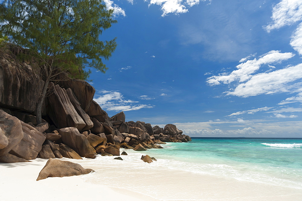 Grand Anse beach, La Digue, Seychelles, Indian Ocean, Africa