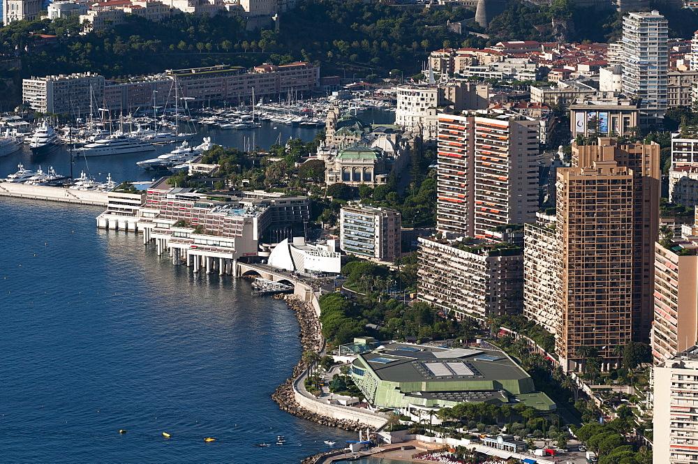 Monte Carlo, Principality of Monaco, Cote d'Azur, Mediterranean, Europe