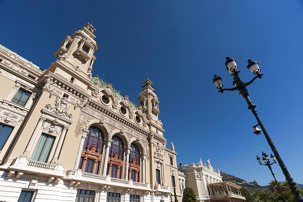 Casino, Monte Carlo, Principality of Monaco, Cote d'Azur, Europe