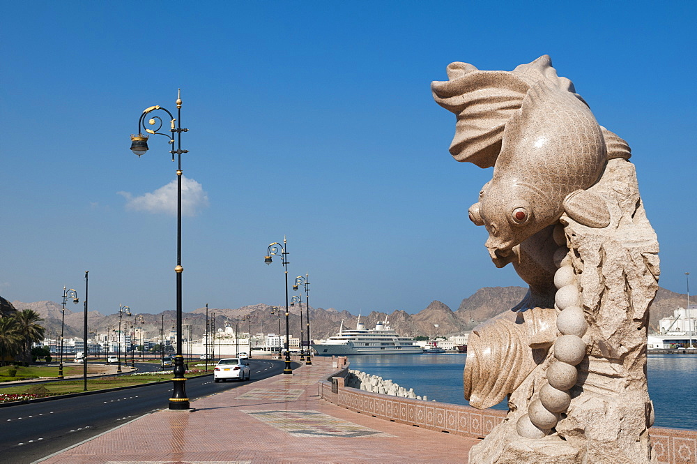 Muttrah Corniche, Muscat, Oman, Middle East