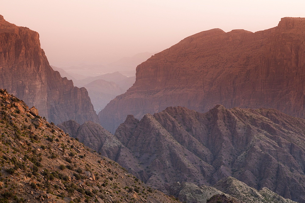 Green Mountains, Oman, Middle East