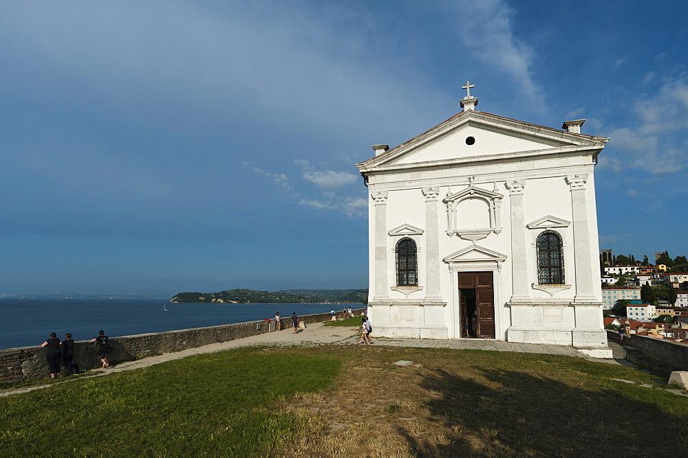 The Church of Saint George, Piran, Slovenia, Europe