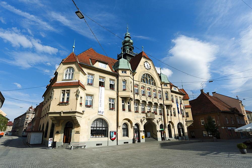 The Town Hall, Ptuj, Slovenia, Europe
