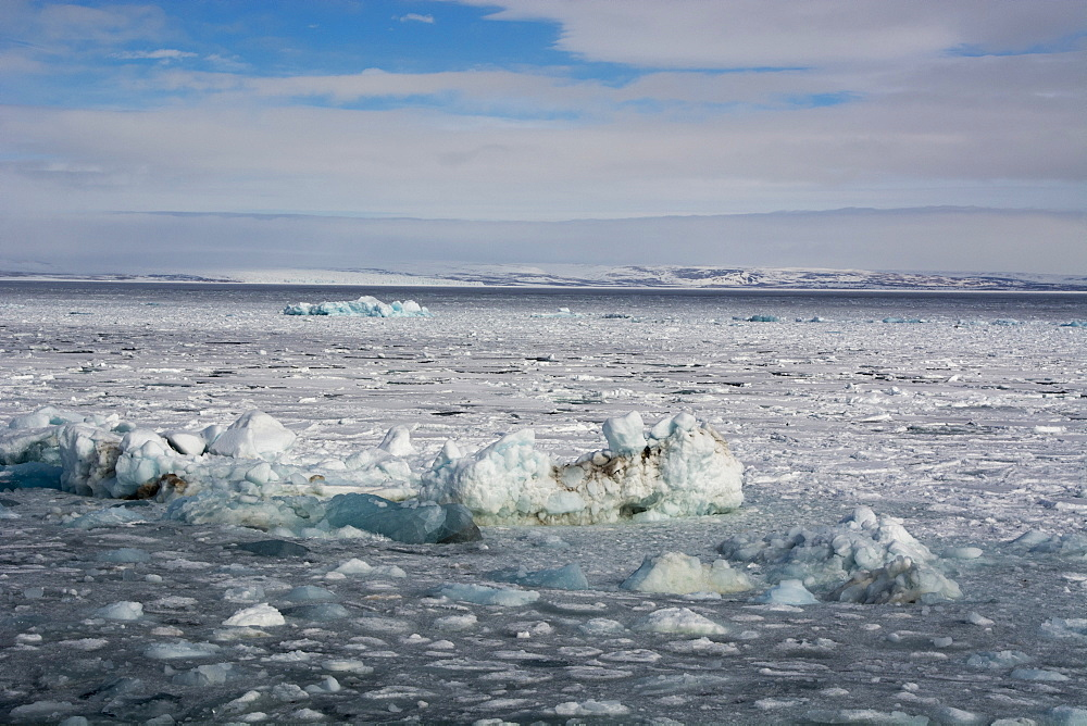 Wahlenberg fjord, Nordaustlandet, Svalbard Islands, Arctic, Norway, Europe