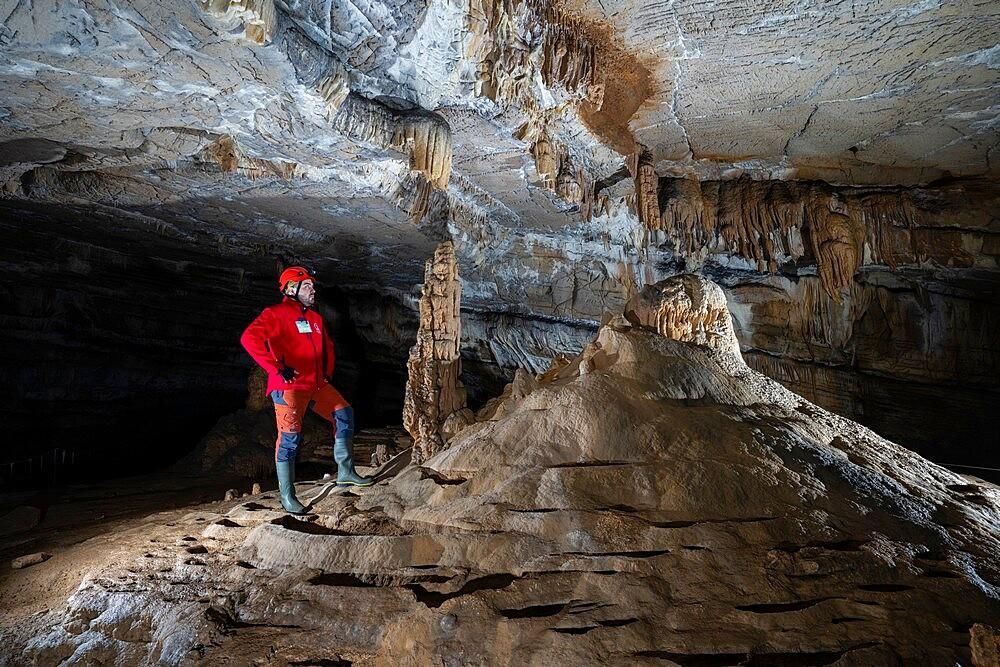 Krizna Jama cave, Grahovo, Slovenia, Europe - 741-5974