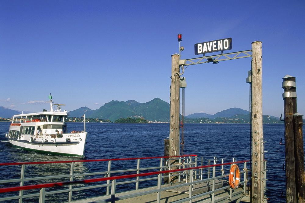 Baveno, Lake Maggiore, Italian Lakes, Piemonte (Piedmont), Italy, Europe