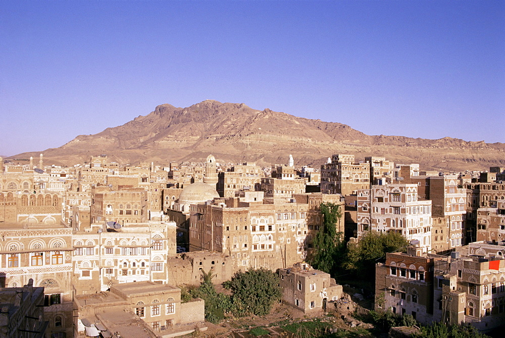 Old Town, Sana'a, UNESCO World Heritage Site, Republic of Yemen, Middle East