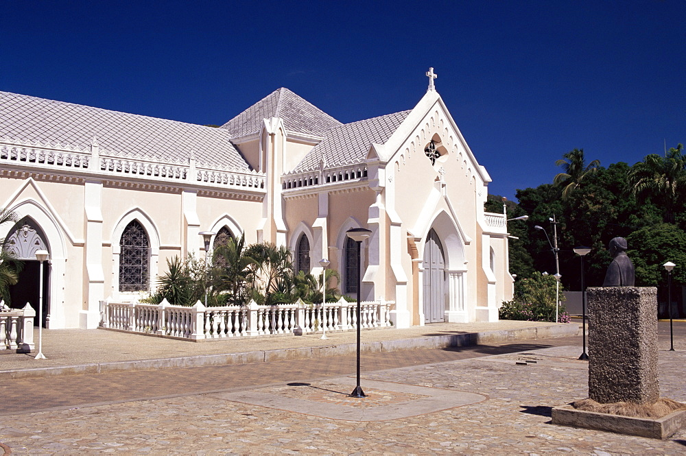 Vergine Della Valle sanctuary, Valle Del Espiritu Santo, Isla Margarita, Venezuela, South America