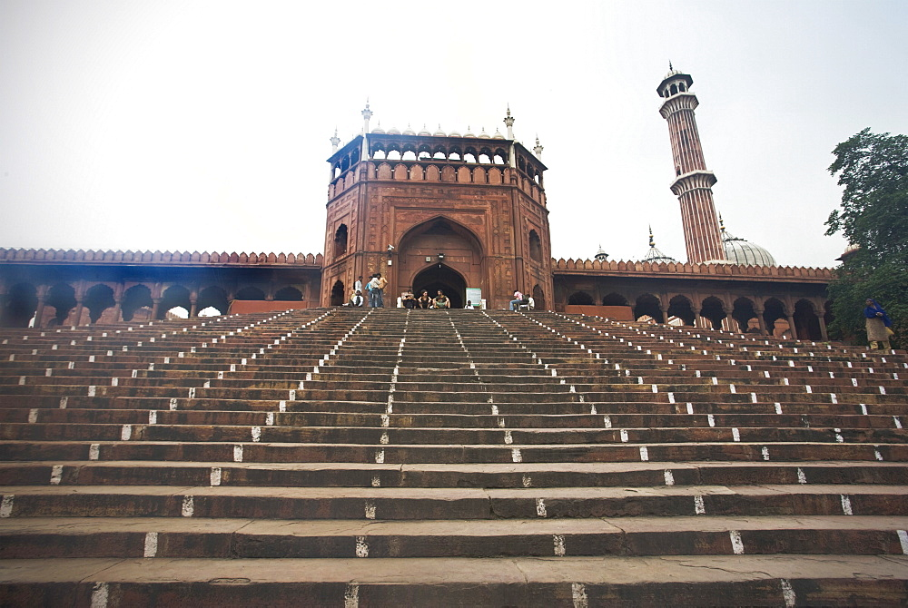 Jama Masjid, Delhi, India, Asia