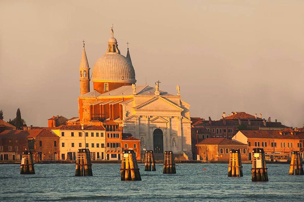 Chiesa San Giorgio, Venice, UNESCO World Heritage Site, Veneto, Italy, Europe - 747-1909
