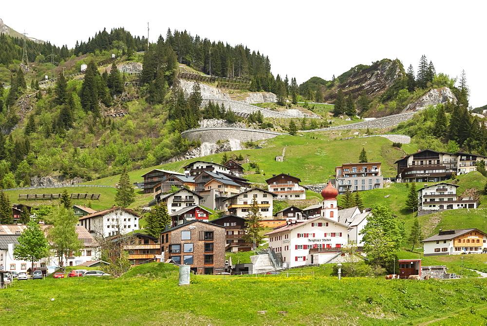 Stuben am Arlberg, ski resort, Vorarlberg, Austria, Europe - 747-1971