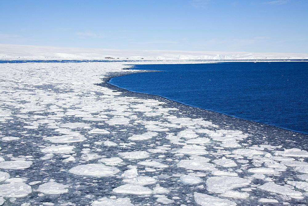 Pack ice, Dumont d'Urville, Antarctica, Polar Regions - 748-1281