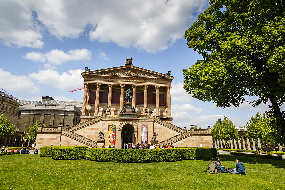 Alte Nationalgalerie (Old National Gallery) at the Museumsinsel (Museum Island), Mitte, Berlin, Germany, Europe