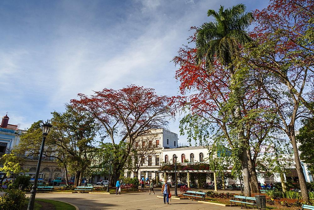 Parque Libertad, Matanzas, Cuba, West Indies, Caribbean, Central America - 749-2313