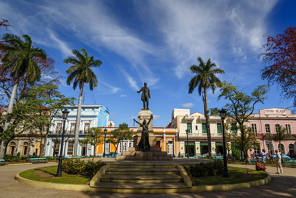 Parque Libertad, Matanzas, Cuba, West Indies, Caribbean, Central America - 749-2315