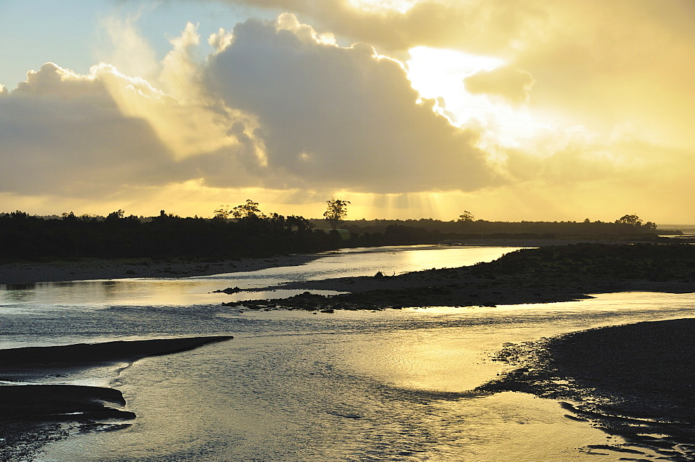 Haast River, West Coast, South Island, New Zealand, Pacific
