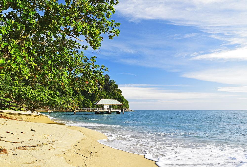 Turtle Bay, Pulau Pangkor (Pangkor Island), Perak, Malaysia, Southeast Asia, Asia