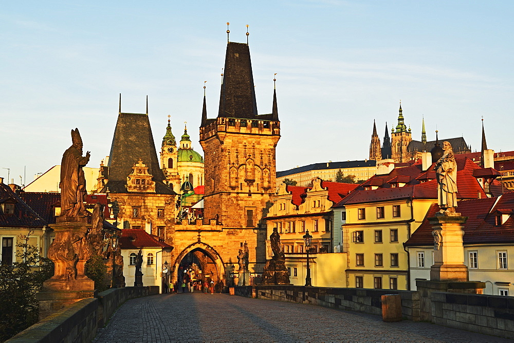 Charles Bridge, Prague, Czech Republic, Europe - 756-2771
