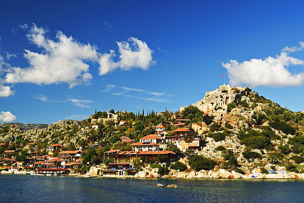 Kekova coastal region, near Demre, Mediterranean Sea, Antalya Province, Anatolia, Turkey, Asia Minor, Eurasia - 756-2795