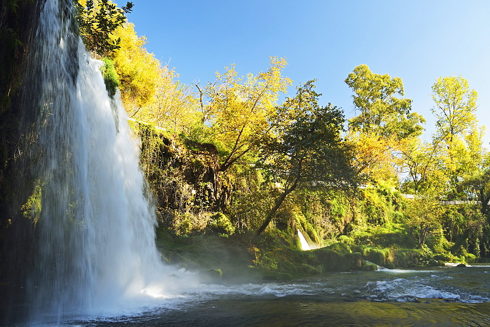 Duden Falls, Antalya, Antalya Province, Anatolia, Turkey, Asia Minor, Eurasia - 756-2799