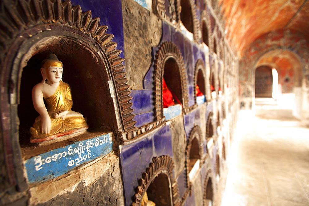 Shwe Yan Pyay Monestary, Nyaungshwe, Inle Lake, Myanamar (Burma), Asia - 757-293