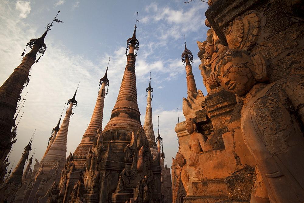Kakku Pagoda Complex, Shan State, Myanmar (Burma), Asia