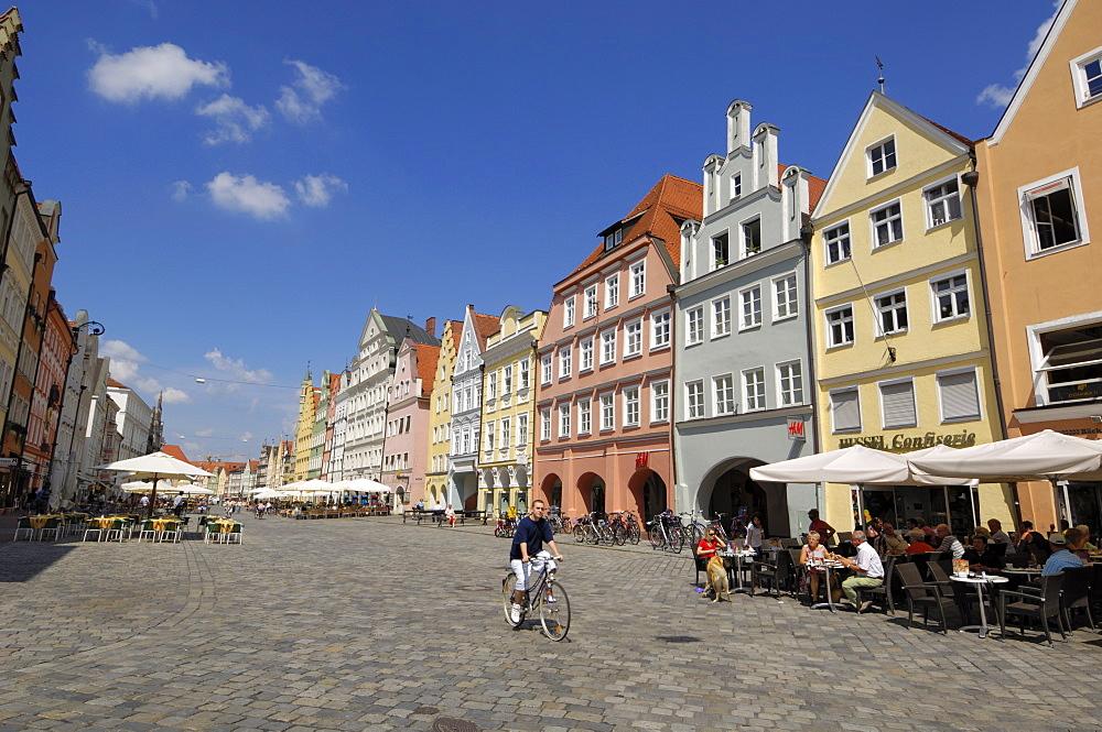 Altstadt, Landshut, Bavaria, Germany, Europe - 762-477