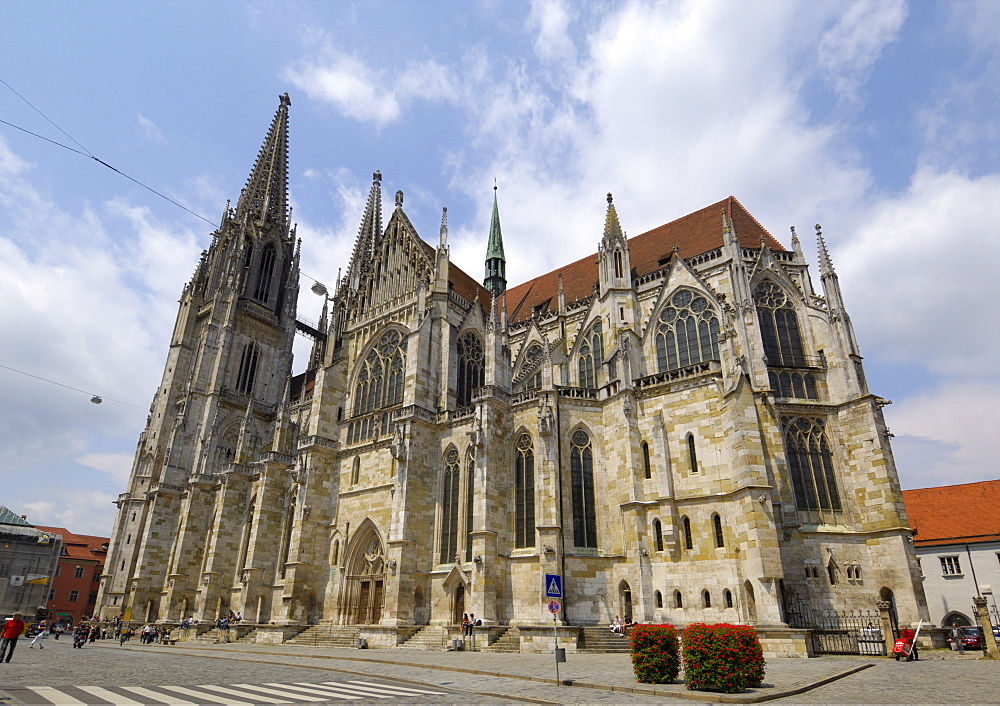 Cathedral (Dom), Regensburg, Bavaria, Germany, Europe