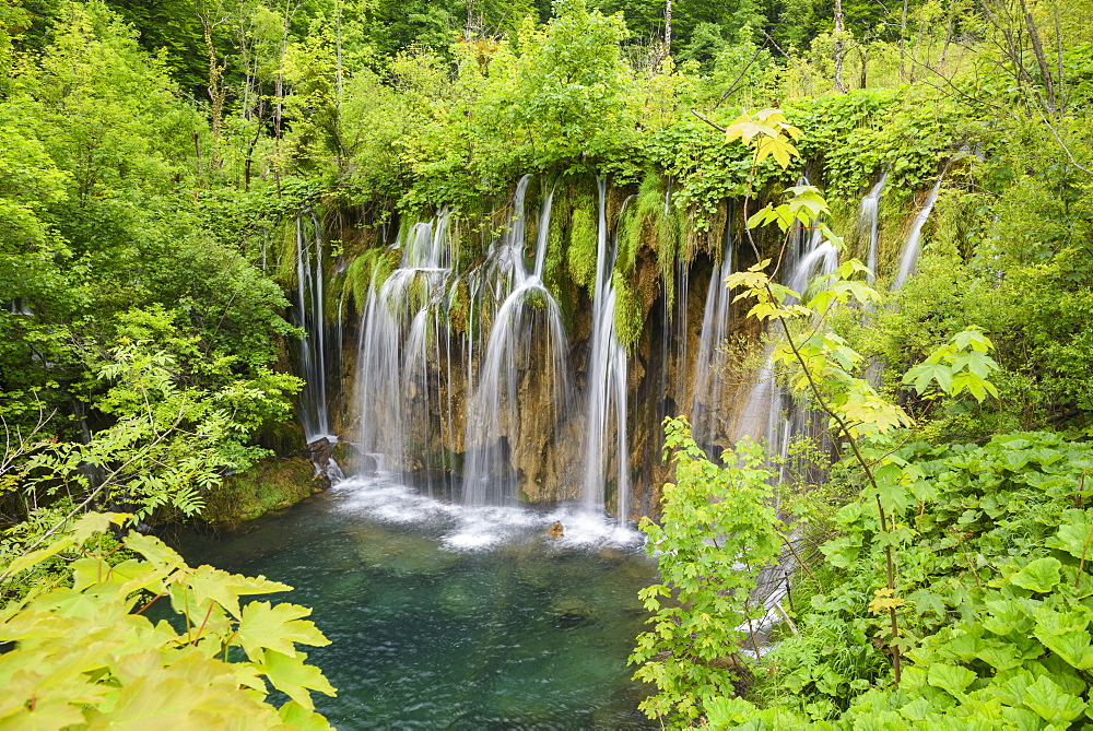 Plitvice Lakes National Park, UNESCO World Heritage Site, Croatia, Europe - 762-801