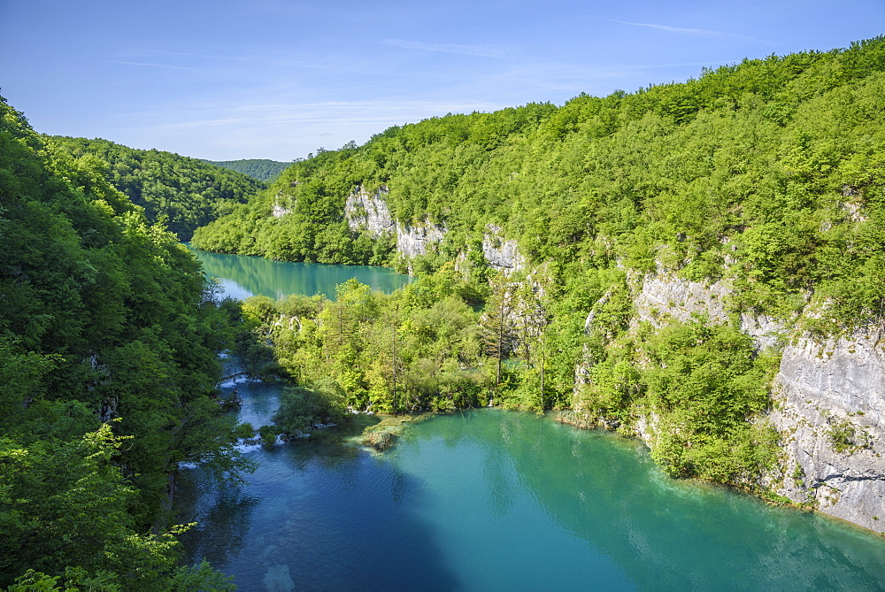 Plitvice Lakes National Park, UNESCO World Heritage Site, Croatia, Europe - 762-803