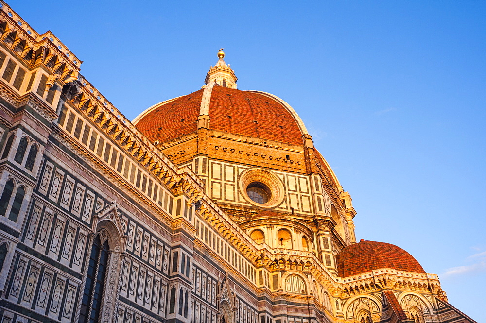 The Dome of Brunelleschi, Duomo, Florence (Firenze), UNESCO World Heritage Site, Tuscany, Italy, Europe
