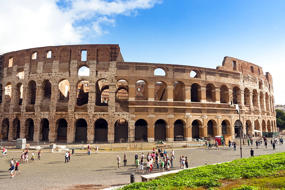 Colosseum or Flavian Amphitheatre, Rome, Unesco World Heritage Site, Latium, Italy, Europe - 765-1954