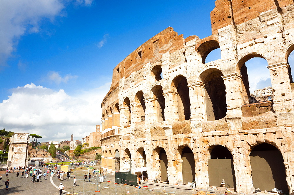 Colosseum or Flavian Amphitheatre, Rome, Unesco World Heritage Site, Latium, Italy, Europe - 765-1955