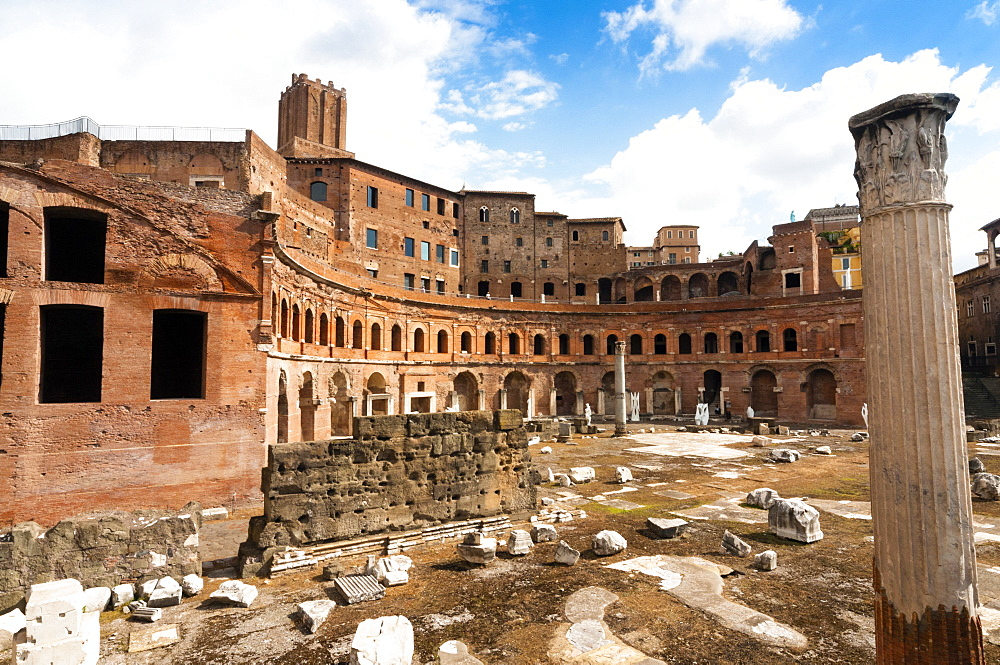 Trajan's Forum, Rome, Unesco World Heritage Site, Latium, Italy, Europe