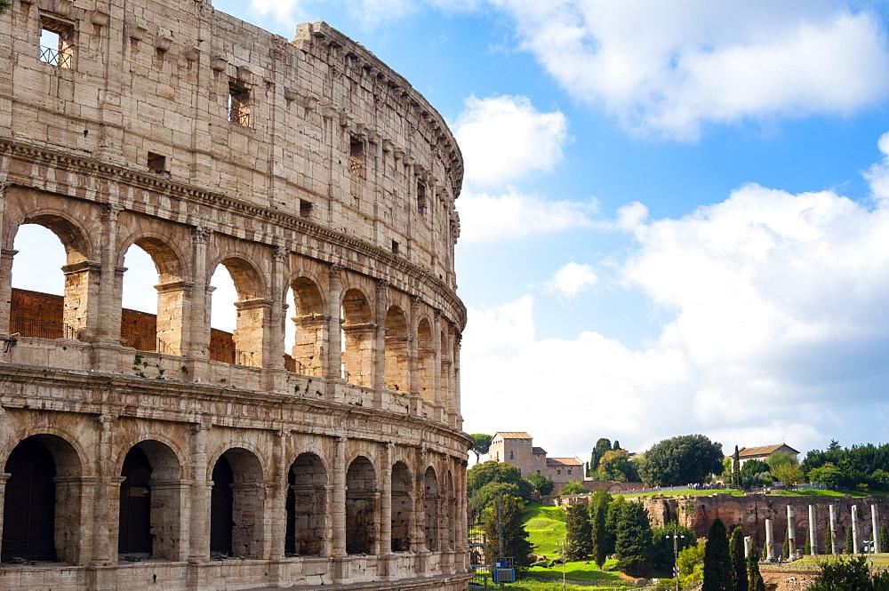 Colosseum (Flavian Amphitheatre), UNESCO World Heritage Site, Rome, Lazio, Italy, Europe - 765-1993
