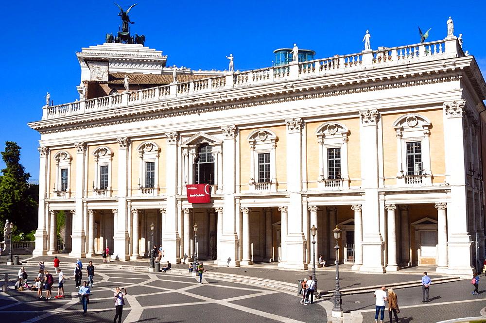 Palazzo Nuovo, Campidoglio, Capitoline Hill, UNESCO World Heritage Site, Rome, Lazio, Italy, Europe - 765-1997