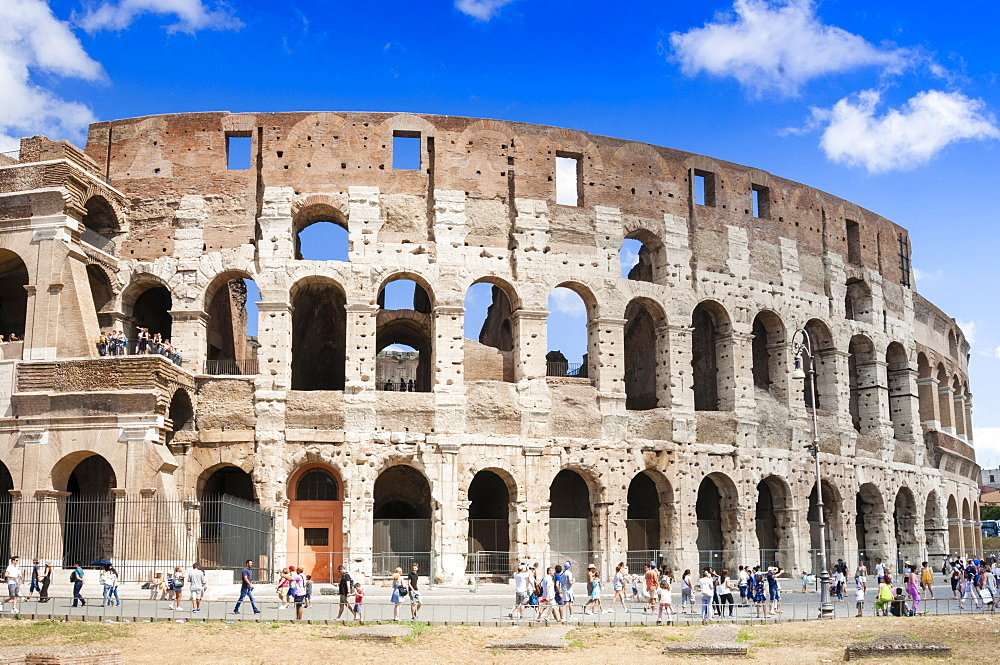 Colosseum or Flavian Amphitheatre, Rome, Unesco World Heritage Site, Rome, Latium, Italy, Europe