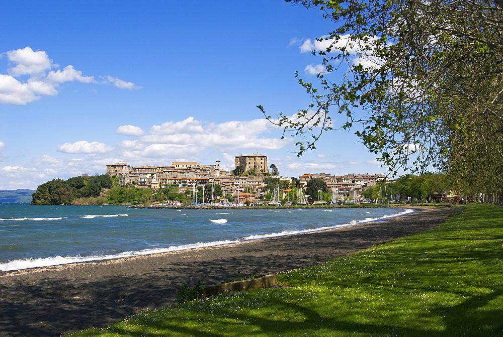 Capodimonte and Lake of Bolsena, Viterbo, Lazio, Italy, Europe