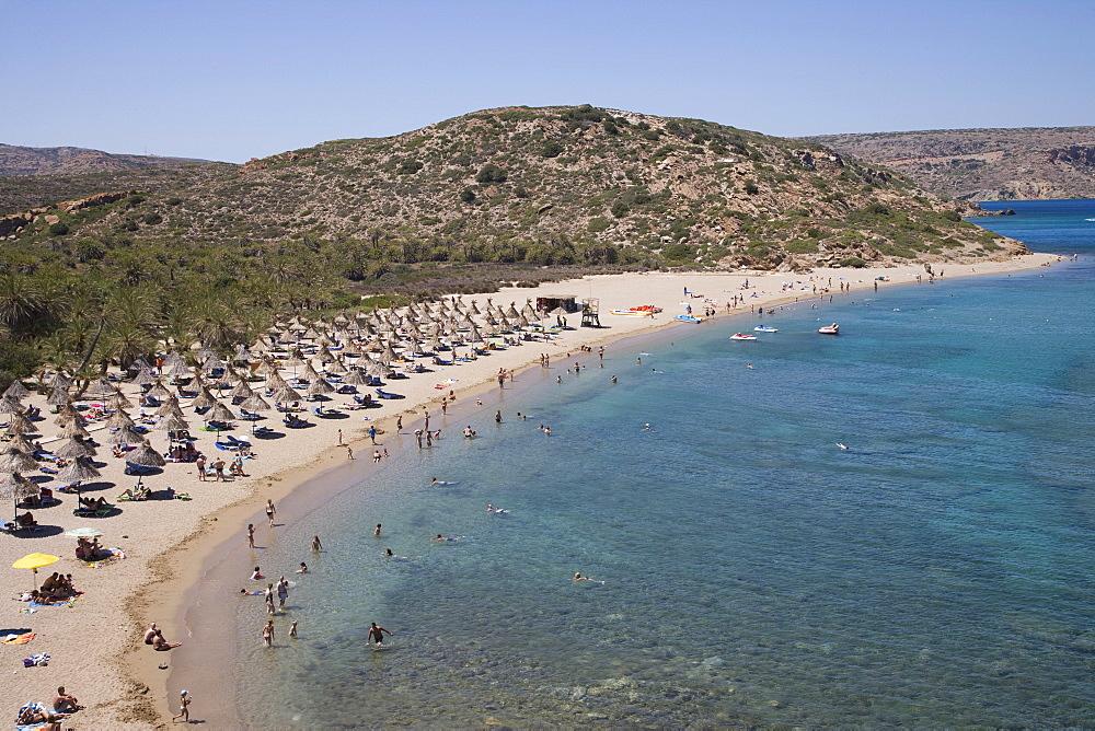 Vai, Crete, Greece, Europe