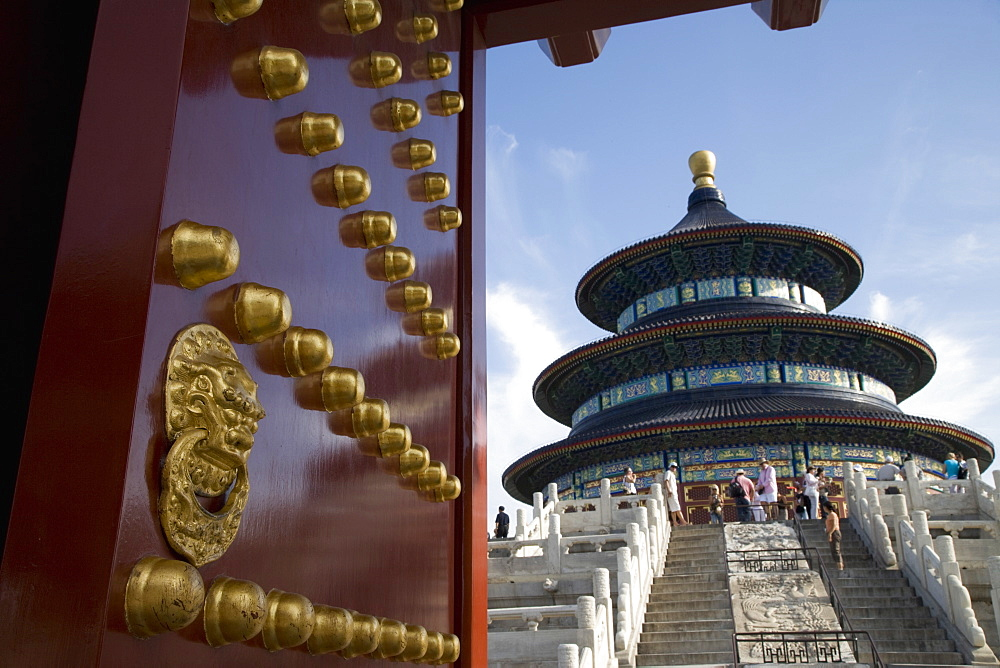 Temple of Heaven, UNESCO World Heritage Site, Beijing, China, Asia - 772-1482