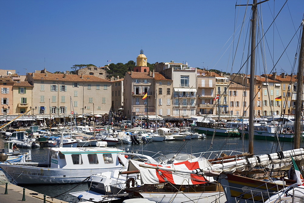 St. Tropez, Var, Provence, Cote d'Azur, French Riviera, France, Mediterranean, Europe