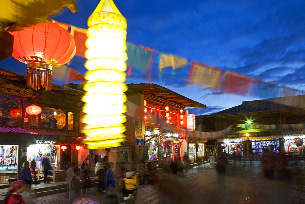 Shangri-La, formerly Zhongdian, on the Tibetan Border, Shangri-La region, Yunnan Province, China, Asia