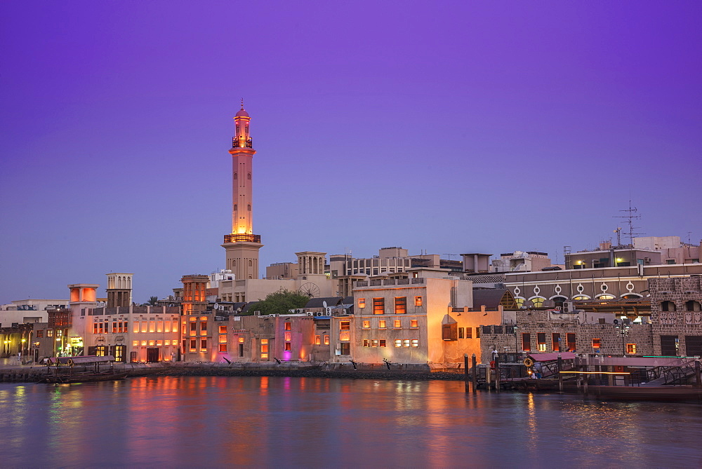 Dubai Creek, Dubai, United Arab Emirates, Middle East - 772-3622