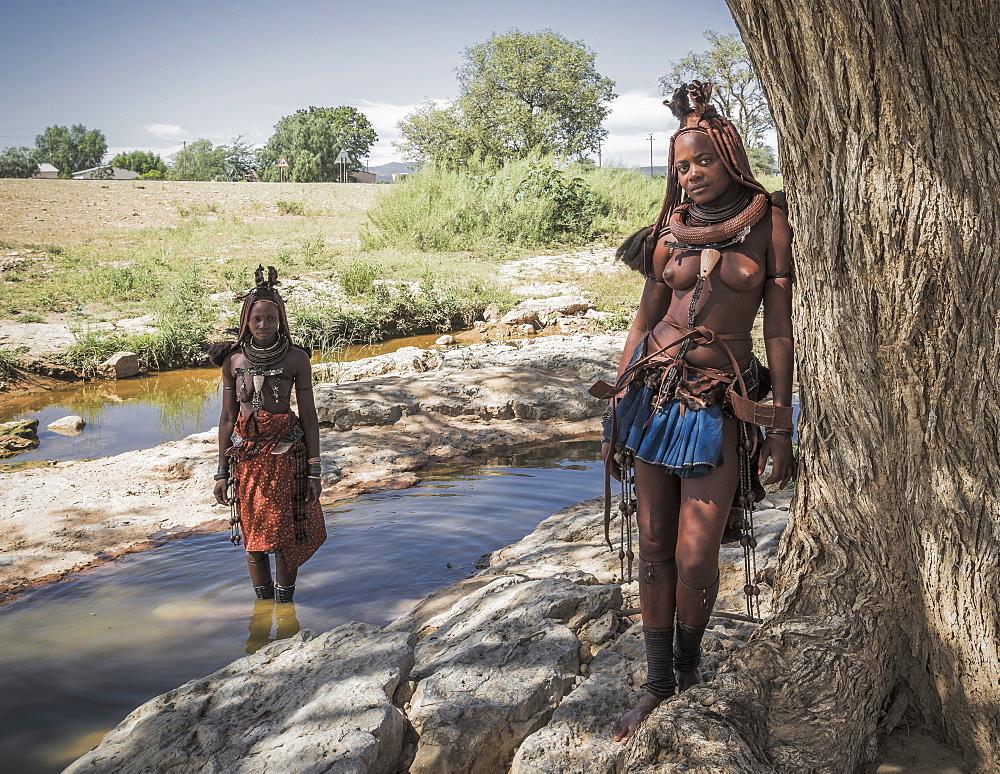 Himba woman, Kaokoland, Namibia, Africa - 772-3642